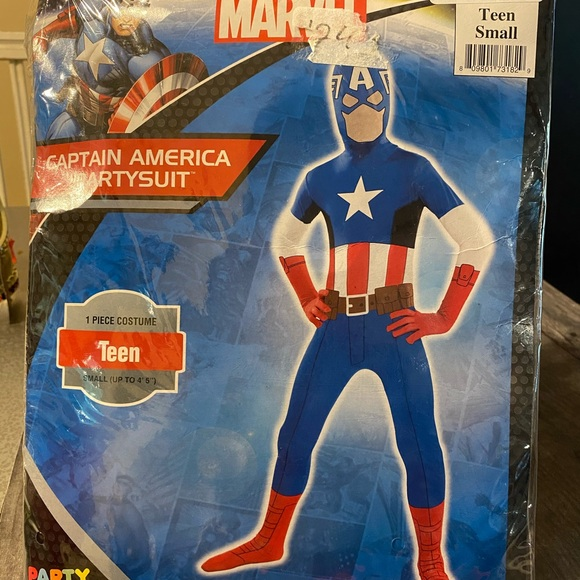 Marvel Other - Captain America Partysuit Teen small